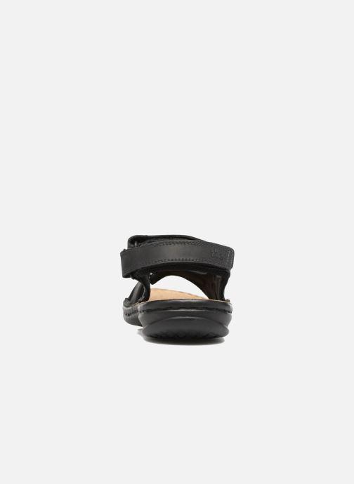 Sandales et nu-pieds TBS Easy Walk Berric Noir vue droite
