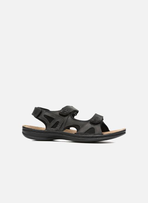 Sandales et nu-pieds TBS Easy Walk Berric Noir vue derrière