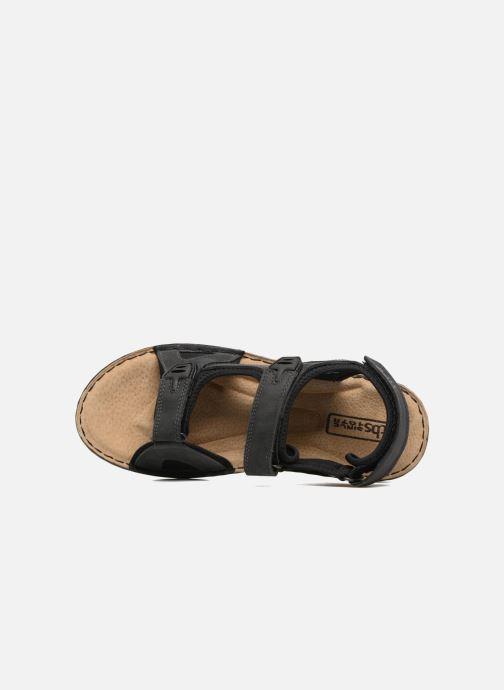 Sandales et nu-pieds TBS Easy Walk Berric Noir vue gauche