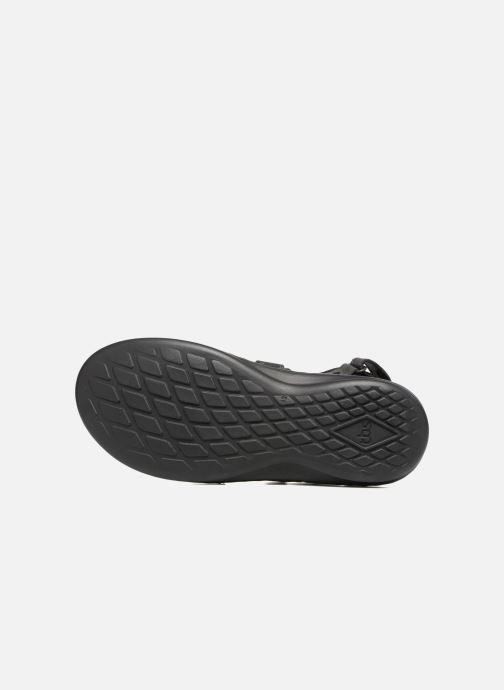 Sandales et nu-pieds TBS Easy Walk Berric Noir vue haut