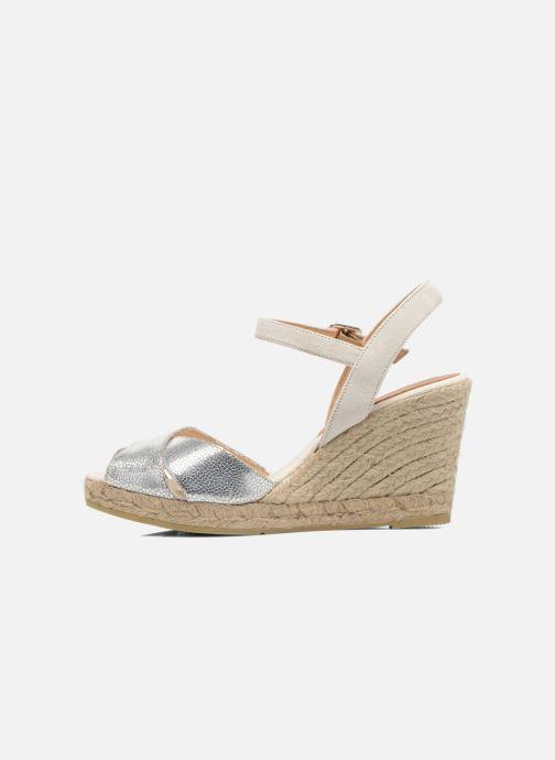 Sandales et nu-pieds Kanna Camoa Beige vue face