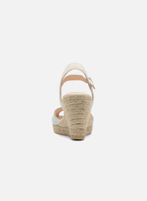 Sandales et nu-pieds Kanna Camoa Beige vue droite