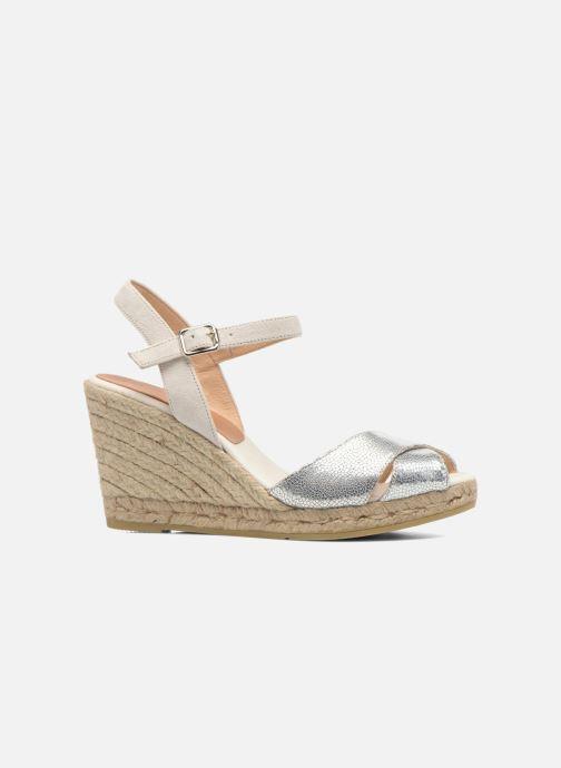 Sandales et nu-pieds Kanna Camoa Beige vue derrière