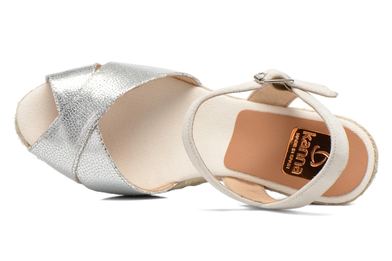 Sandales et nu-pieds Kanna Camoa Beige vue gauche
