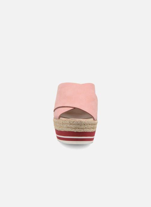 Mules et sabots Kanna Maria Rose vue portées chaussures
