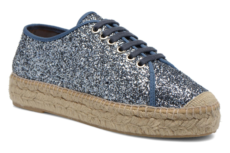 Espadrillos Kanna Juliette Blå detaljeret billede af skoene