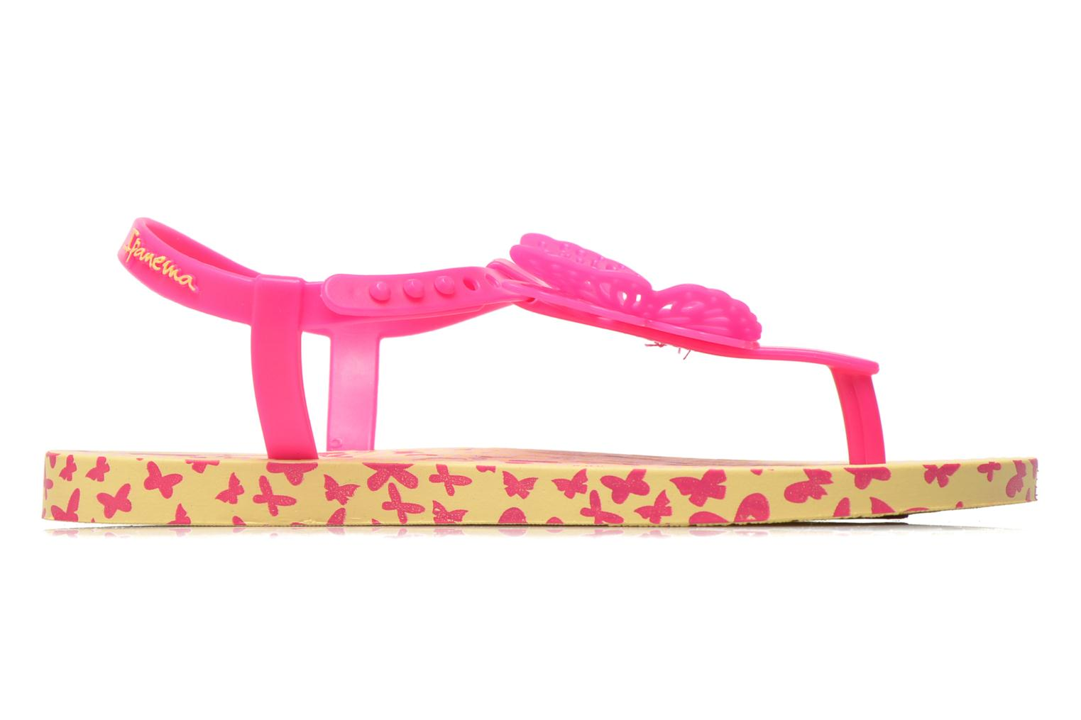Flip flops Ipanema Charm Sandal IV Kids Yellow back view