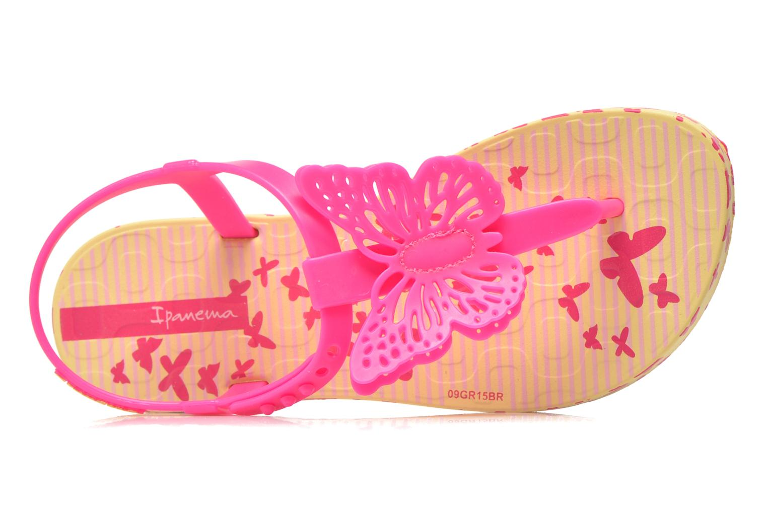 Flip flops Ipanema Charm Sandal IV Kids Yellow view from the left