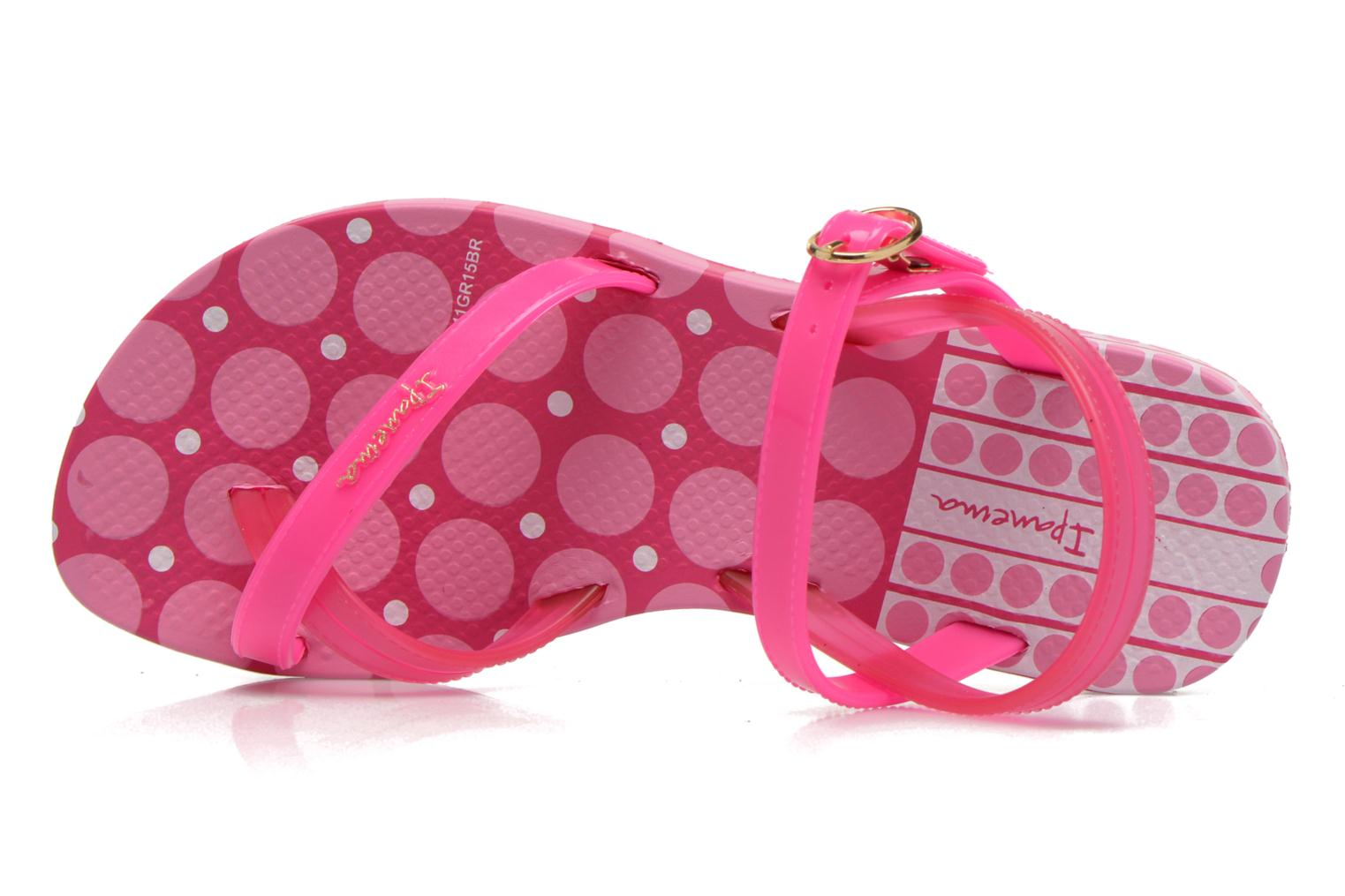 Sandals Ipanema Fashion Sandal III Kids Pink view from the left