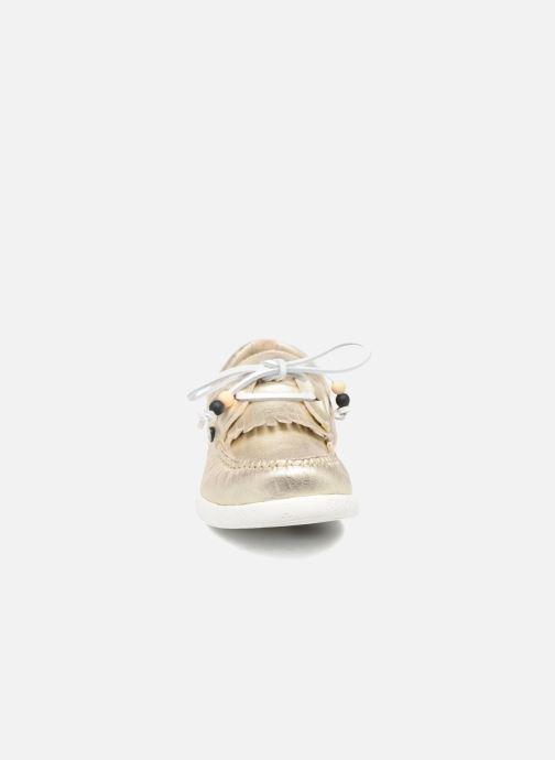 Chaussures à lacets Dolfie Landom Or et bronze vue portées chaussures