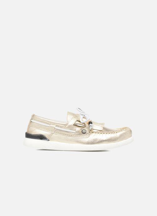 Chaussures à lacets Dolfie Landom Or et bronze vue derrière
