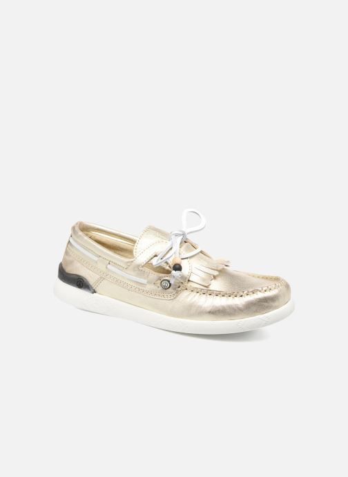 Chaussures à lacets Dolfie Landom Or et bronze vue détail/paire