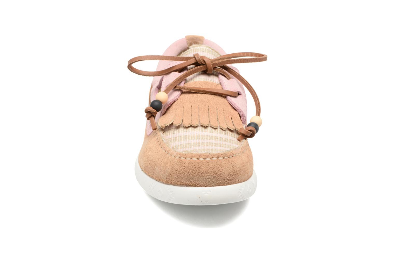 Chaussures à lacets Dolfie Landom Rose vue portées chaussures