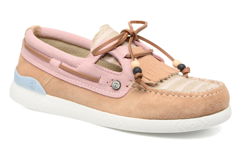 Chaussures à lacets Dolfie Landom Rose vue détail/paire