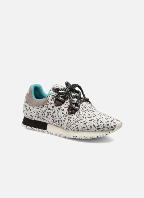 Sneakers Dolfie Axel Hvid detaljeret billede af skoene
