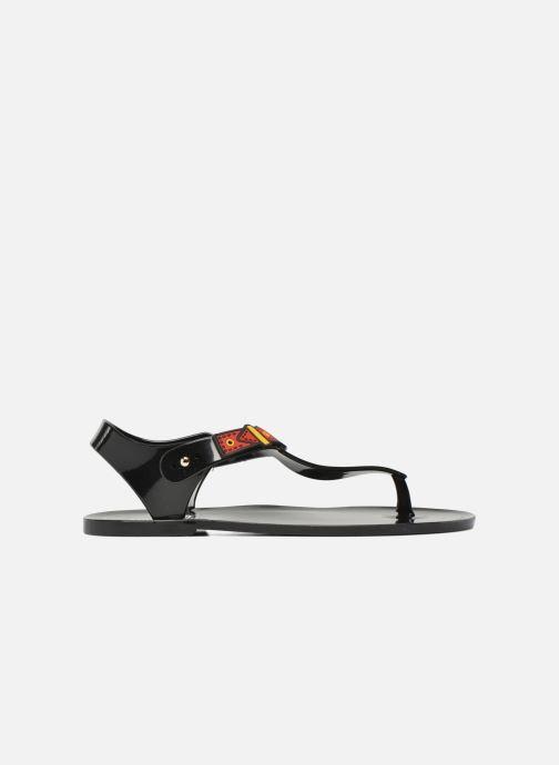 Sandalen Love Moschino Bouclette schwarz ansicht von hinten