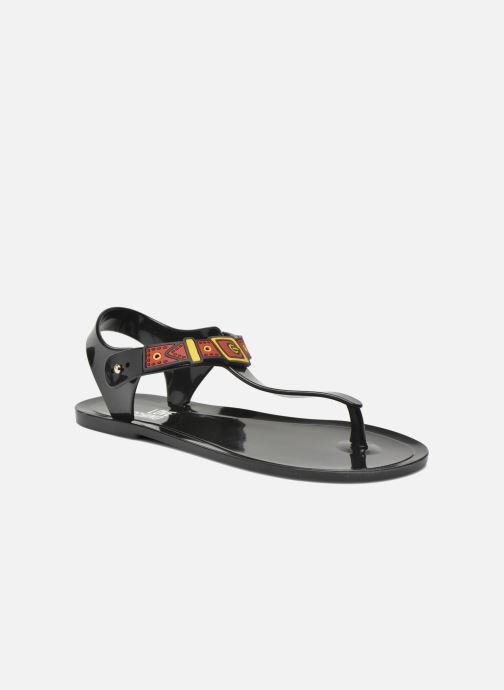 Sandalias Love Moschino Bouclette Negro vista de detalle / par