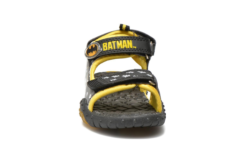 Sandales et nu-pieds Batman Bat Vrongis Noir vue portées chaussures