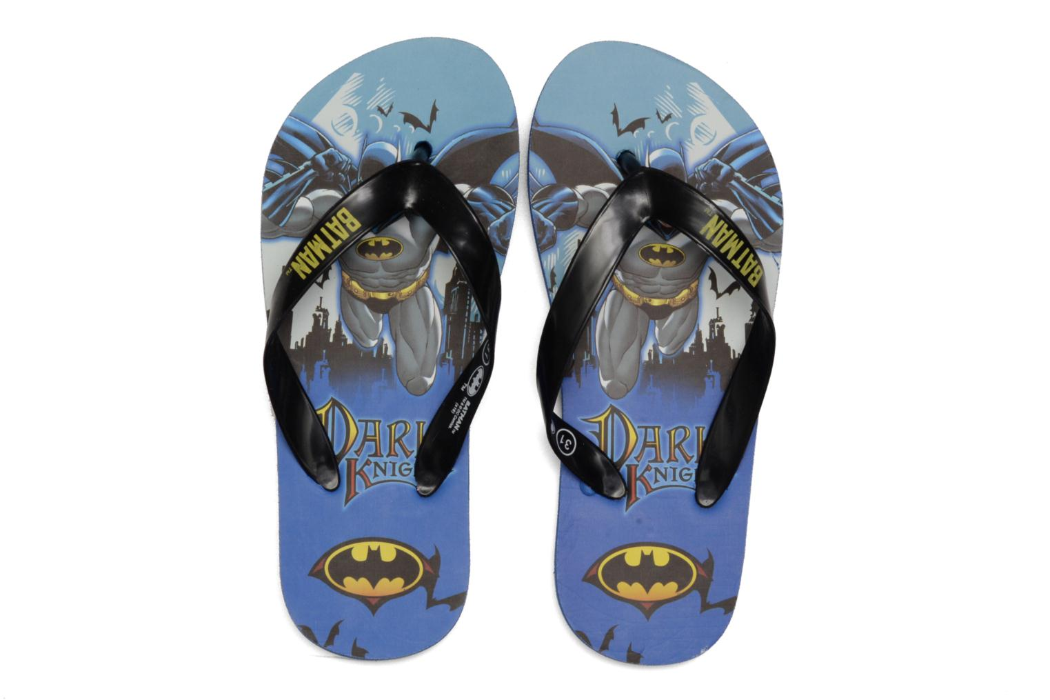 Chanclas Batman Bat Tabessa Ss Azul vista 3/4