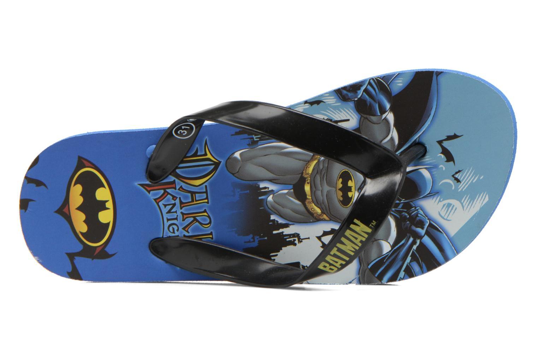 Tongs Batman Bat Tabessa Ss Bleu vue gauche