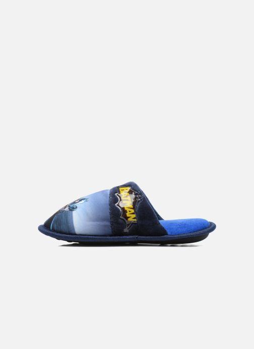 Pantuflas Batman Bat Bamiyan Azul vista de frente