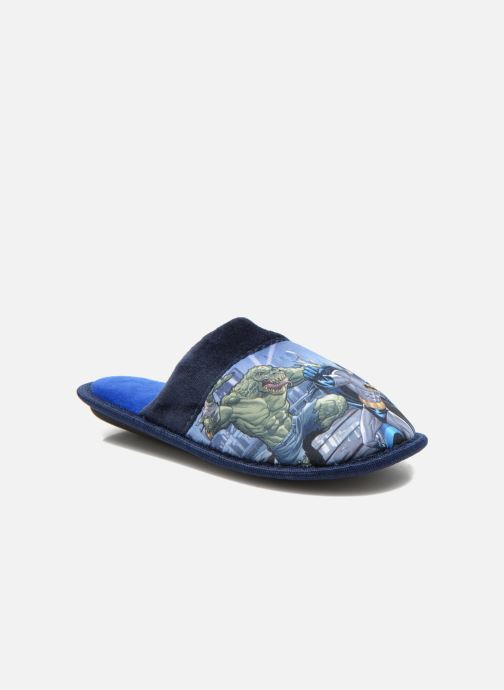 Slippers Batman Bat Bamiyan Blue detailed view/ Pair view
