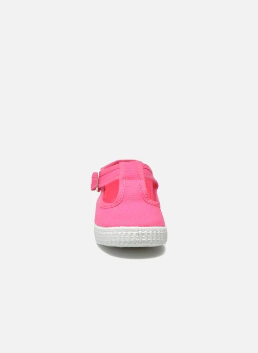 Sneaker Cienta Foliv rosa schuhe getragen