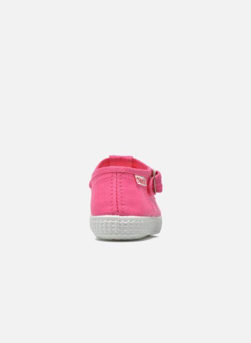Sneaker Cienta Foliv rosa ansicht von rechts