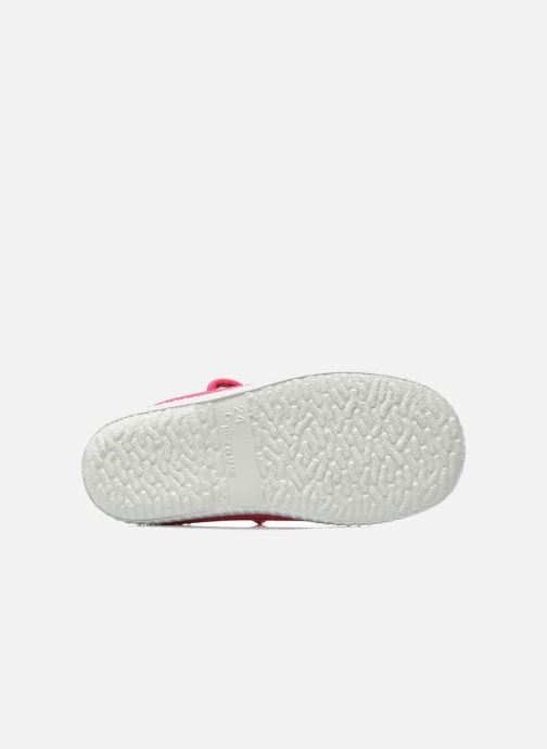 Baskets Cienta Foliv Rose vue haut