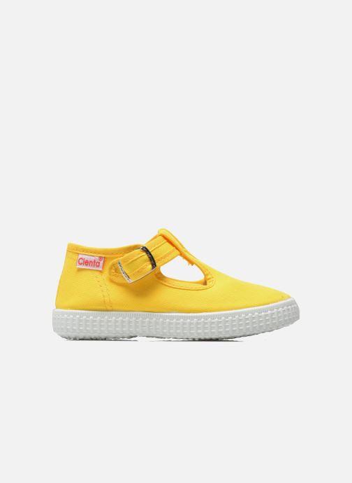 Sneaker Cienta Foliv gelb ansicht von hinten