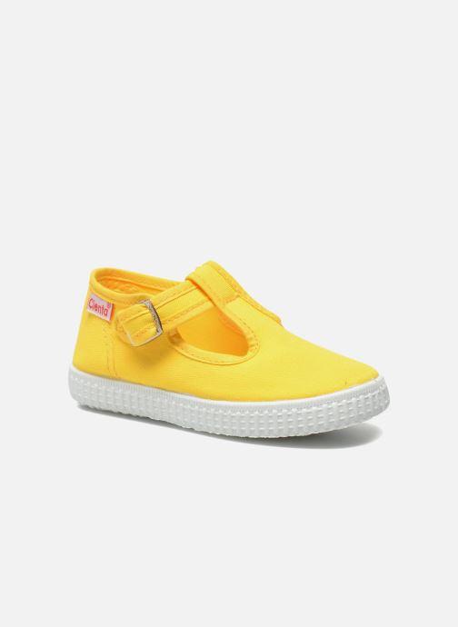 Sneakers Cienta Foliv Geel detail
