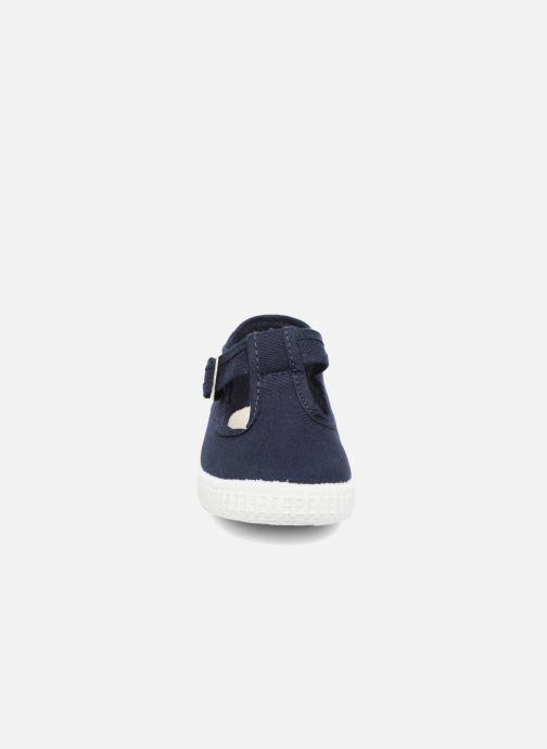 Sneaker Cienta Foliv blau schuhe getragen