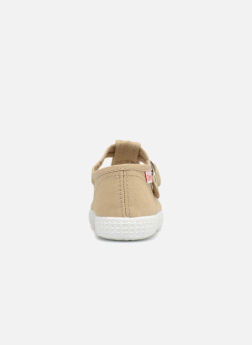 Sneakers Cienta Foliv Beige rechts