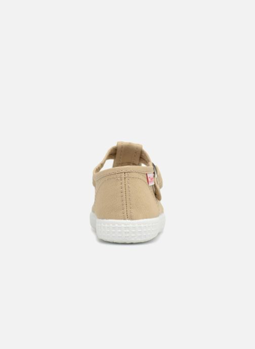 Trainers Cienta Foliv Beige view from the right