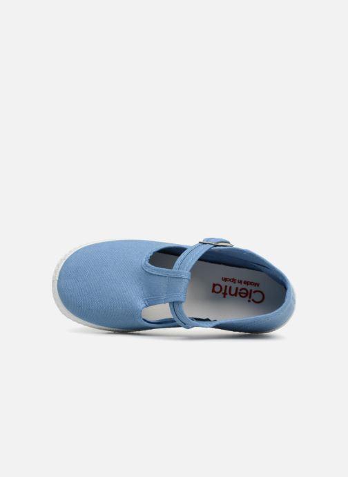 Sneakers Cienta Foliv Blauw links