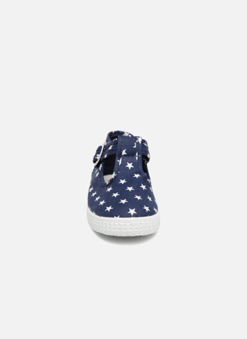 Sneakers Cienta Foliv Blauw model