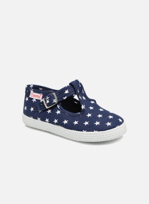 Sneakers Cienta Foliv Blauw detail
