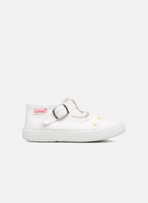 Sneaker Cienta Foliv weiß ansicht von hinten