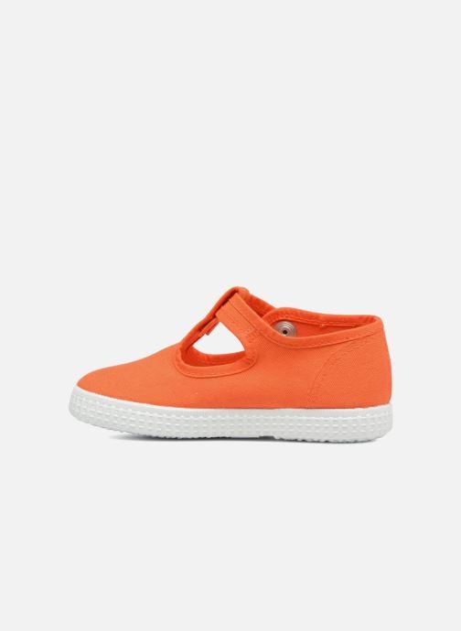 Baskets Cienta Foliv Orange vue face