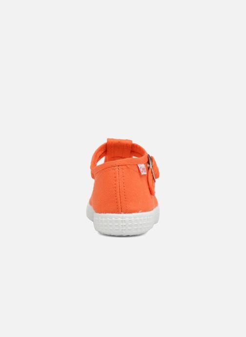 Baskets Cienta Foliv Orange vue droite
