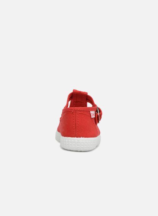 Baskets Cienta Foliv Rouge vue droite