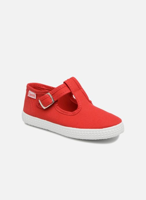 Sneakers Cienta Foliv Rood detail