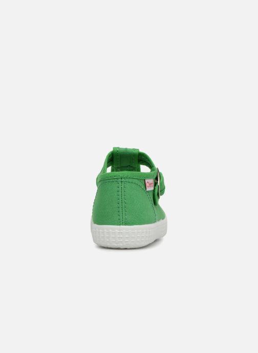 Baskets Cienta Foliv Vert vue droite