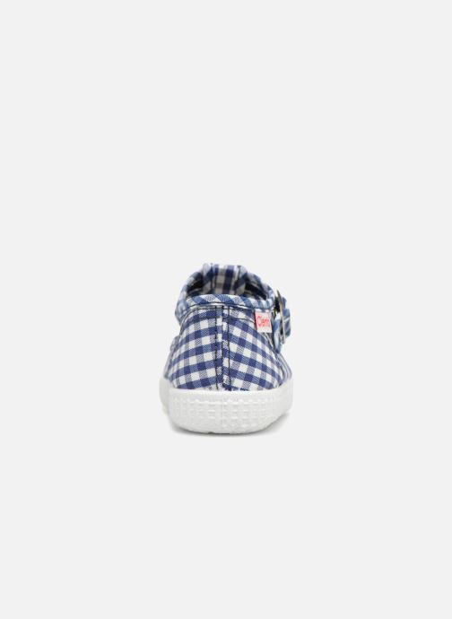 Baskets Cienta Foliv Bleu vue droite