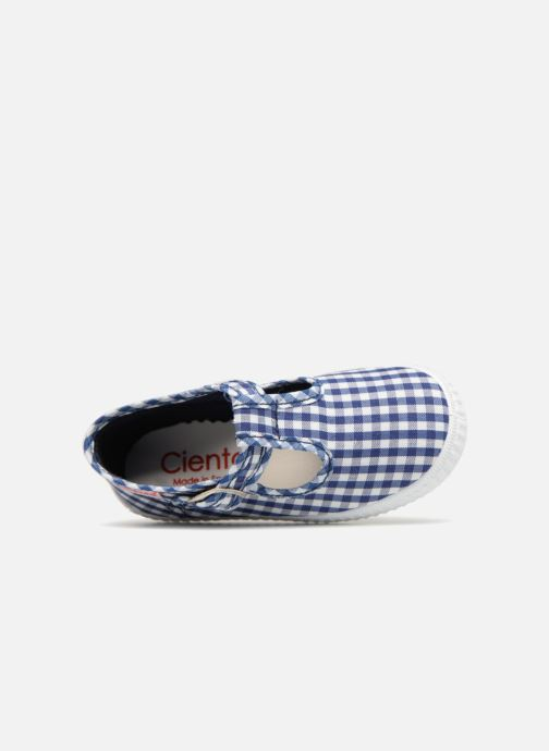 Trainers Cienta Foliv Blue view from the left
