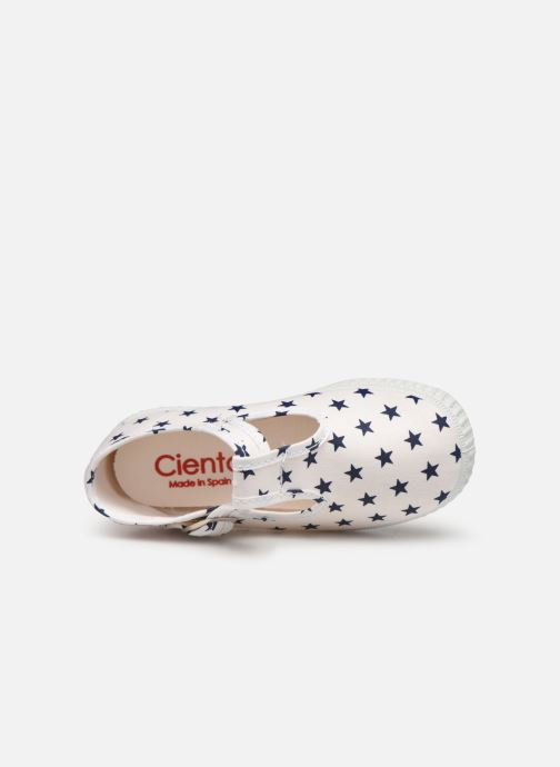 Trainers Cienta Foliv White view from the left