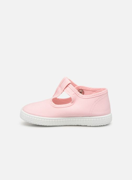 Sneakers Cienta Foliv Roze voorkant