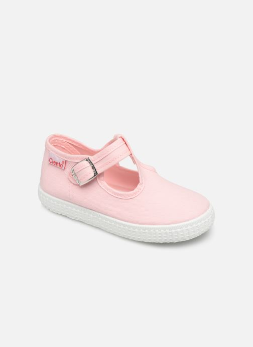 Trainers Cienta Foliv Pink detailed view/ Pair view