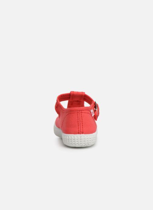 Sneaker Cienta Foliv rot ansicht von rechts