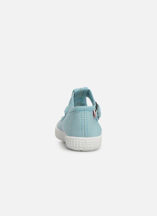 Sneaker Cienta Foliv blau ansicht von rechts